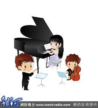 小清新钢琴课插画手绘