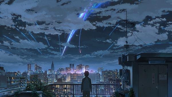 【你的名字】连续6周票房冠军破128亿 打破宫崎骏票房神话!